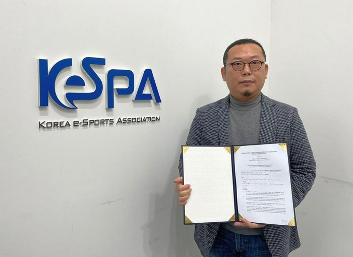 Photo: VIETNAM ELECTRONIC ENTERTAINMENT ASSOCIATION SIGNS A COOPERATION AGREEMENT WITH KOREA ELECTRONIC SPORTS ASSOCIATION NO.2