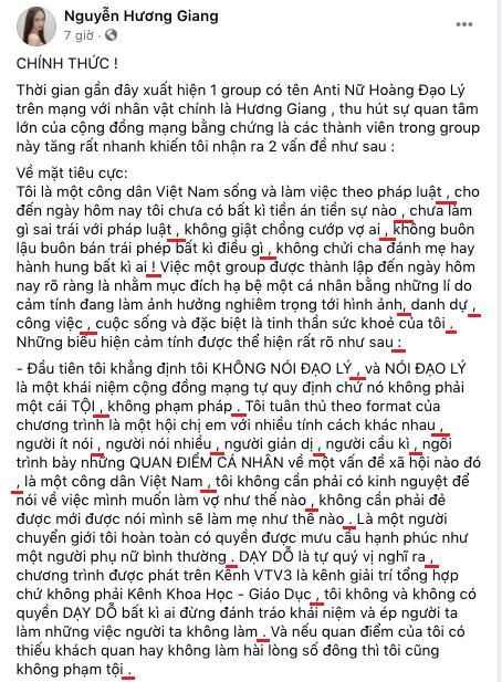 """Hương Giang được 9,5 Ngữ Văn mà vẫn bối rối, không biết từ nào mới đúng chính tả: Câu trước còn """"Đạo lý"""", câu sau đã """"Đạo lí"""" rồi! - Ảnh 1."""