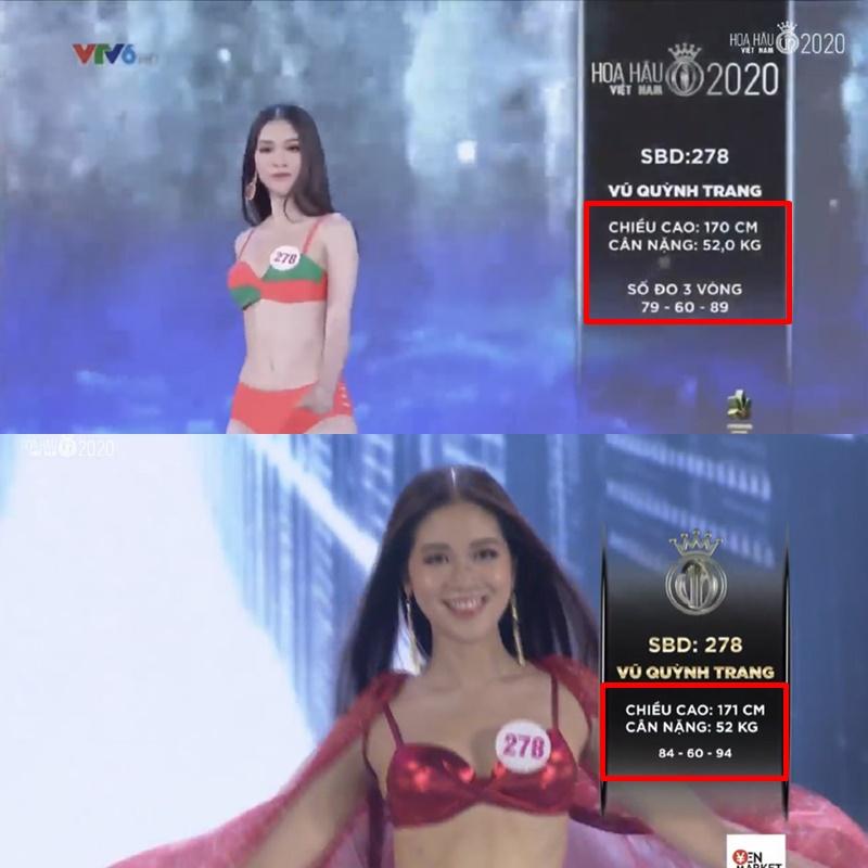 Hàng loạt thí sinh Hoa hậu Việt Nam 2020 bị phát hiện thay đổi số đo nhân trắc học bất thường qua từng vòng, BTC chính thức lên tiếng - Ảnh 5.