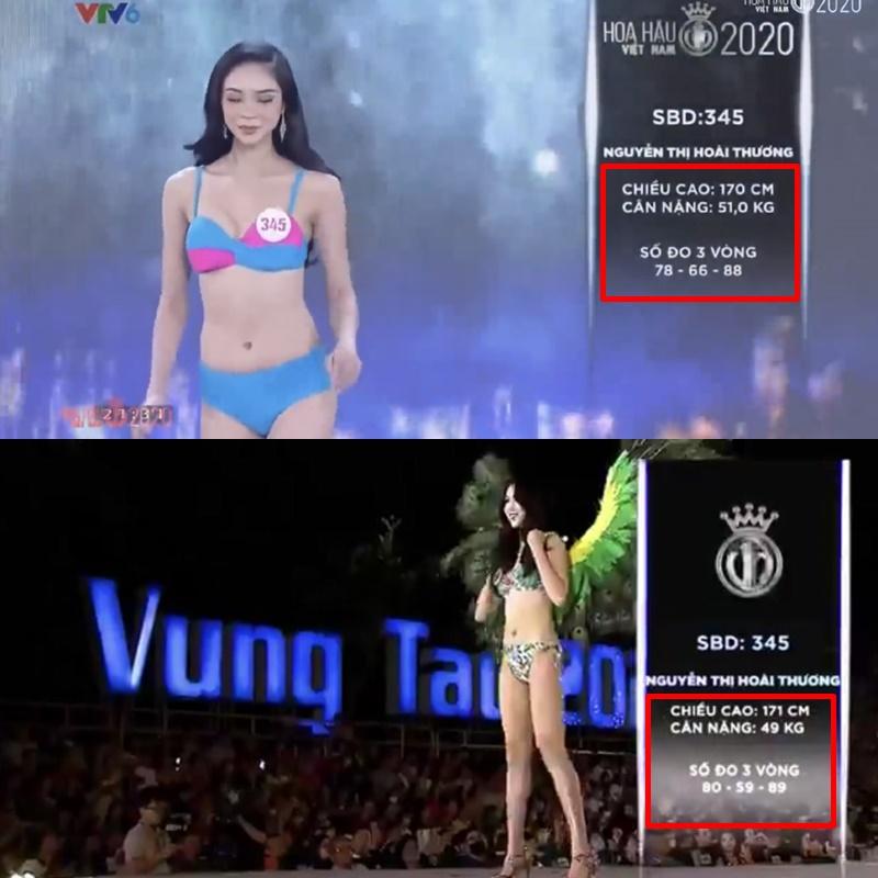 Hàng loạt thí sinh Hoa hậu Việt Nam 2020 bị phát hiện thay đổi số đo nhân trắc học bất thường qua từng vòng, BTC chính thức lên tiếng - Ảnh 6.