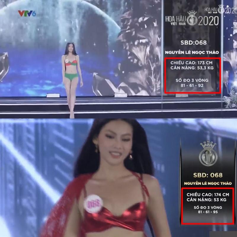 Hàng loạt thí sinh Hoa hậu Việt Nam 2020 bị phát hiện thay đổi số đo nhân trắc học bất thường qua từng vòng, BTC chính thức lên tiếng - Ảnh 3.