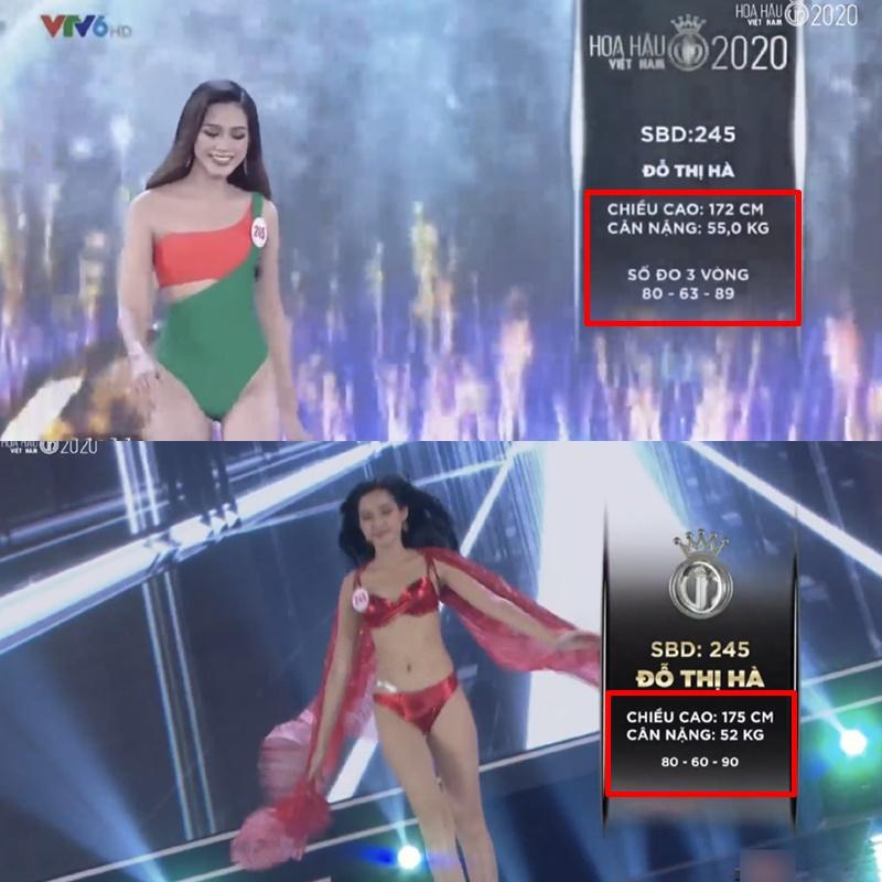 Hàng loạt thí sinh Hoa hậu Việt Nam 2020 bị phát hiện thay đổi số đo nhân trắc học bất thường qua từng vòng, BTC chính thức lên tiếng - Ảnh 2.