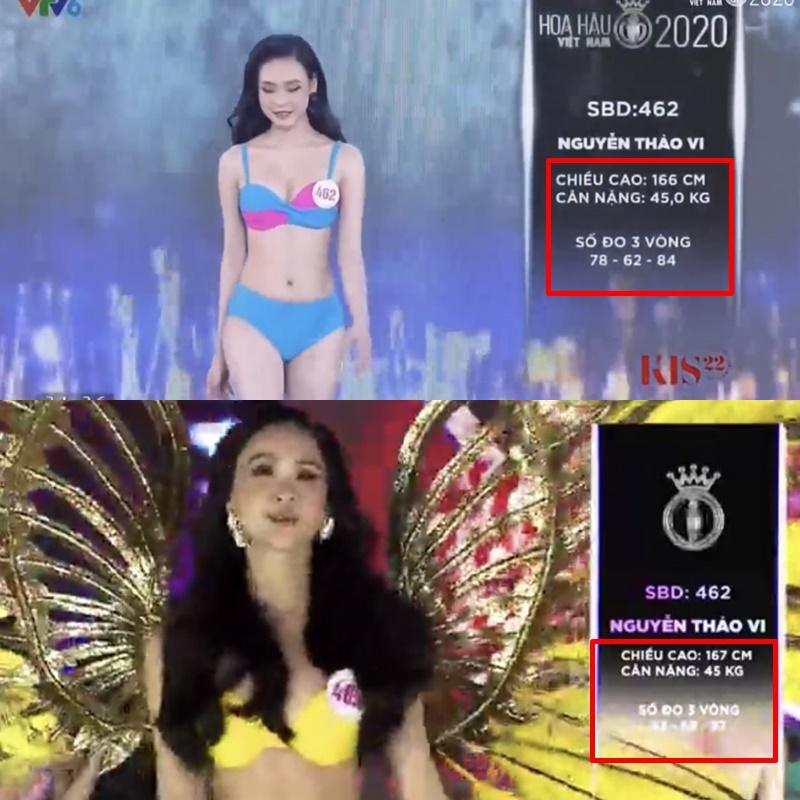 Hàng loạt thí sinh Hoa hậu Việt Nam 2020 bị phát hiện thay đổi số đo nhân trắc học bất thường qua từng vòng, BTC chính thức lên tiếng - Ảnh 4.