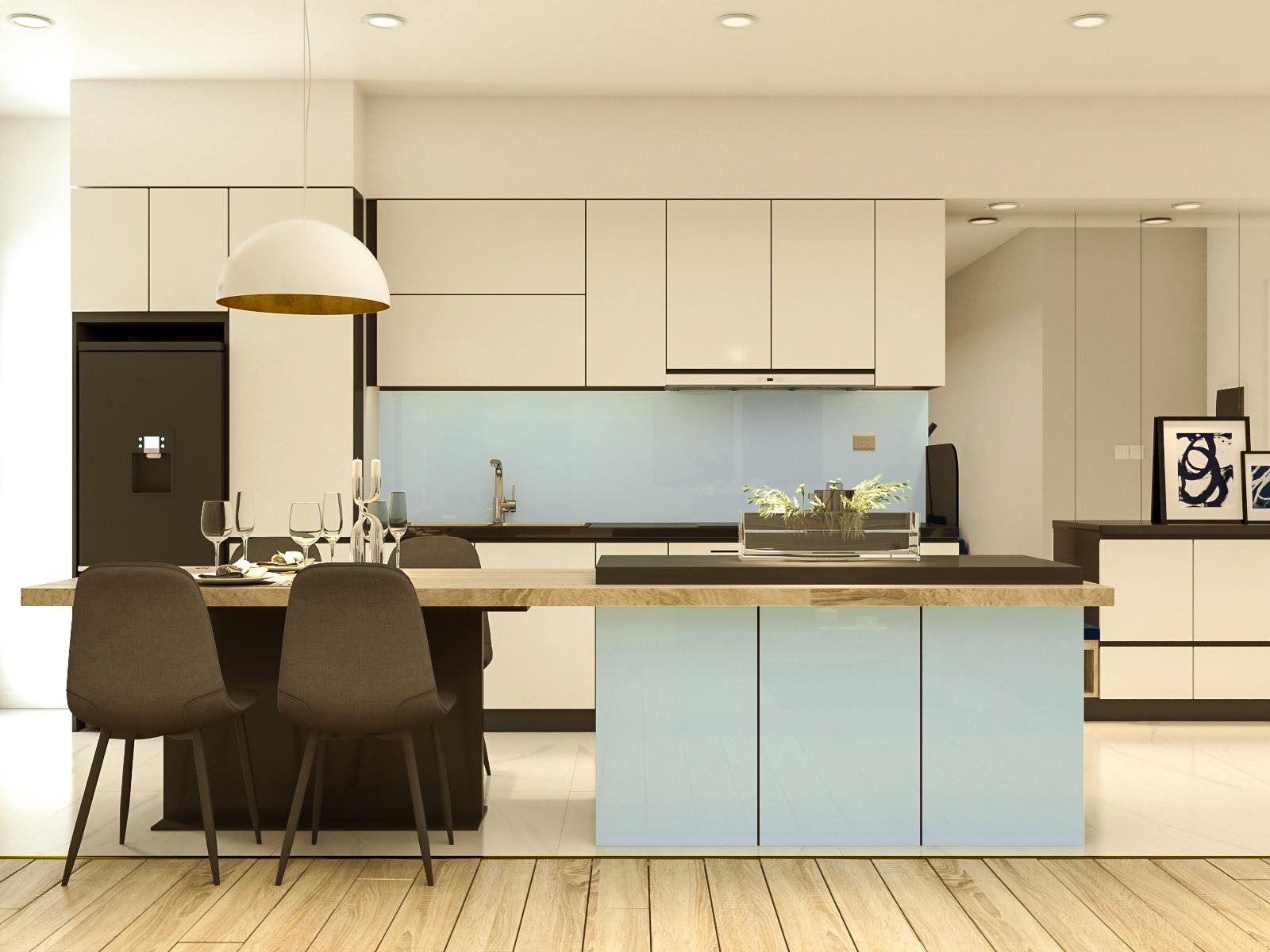 Tư vấn thiết kế cải tạo căn hộ chung cư diện tích 79m² với tổng chi phí 140 triệu đồng - Ảnh 5.