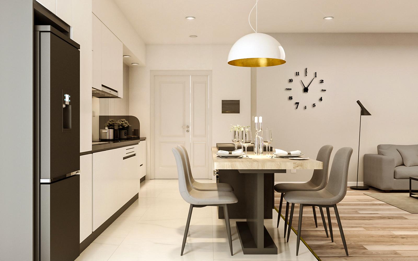 Tư vấn thiết kế cải tạo căn hộ chung cư diện tích 79m² với tổng chi phí 140 triệu đồng - Ảnh 6.