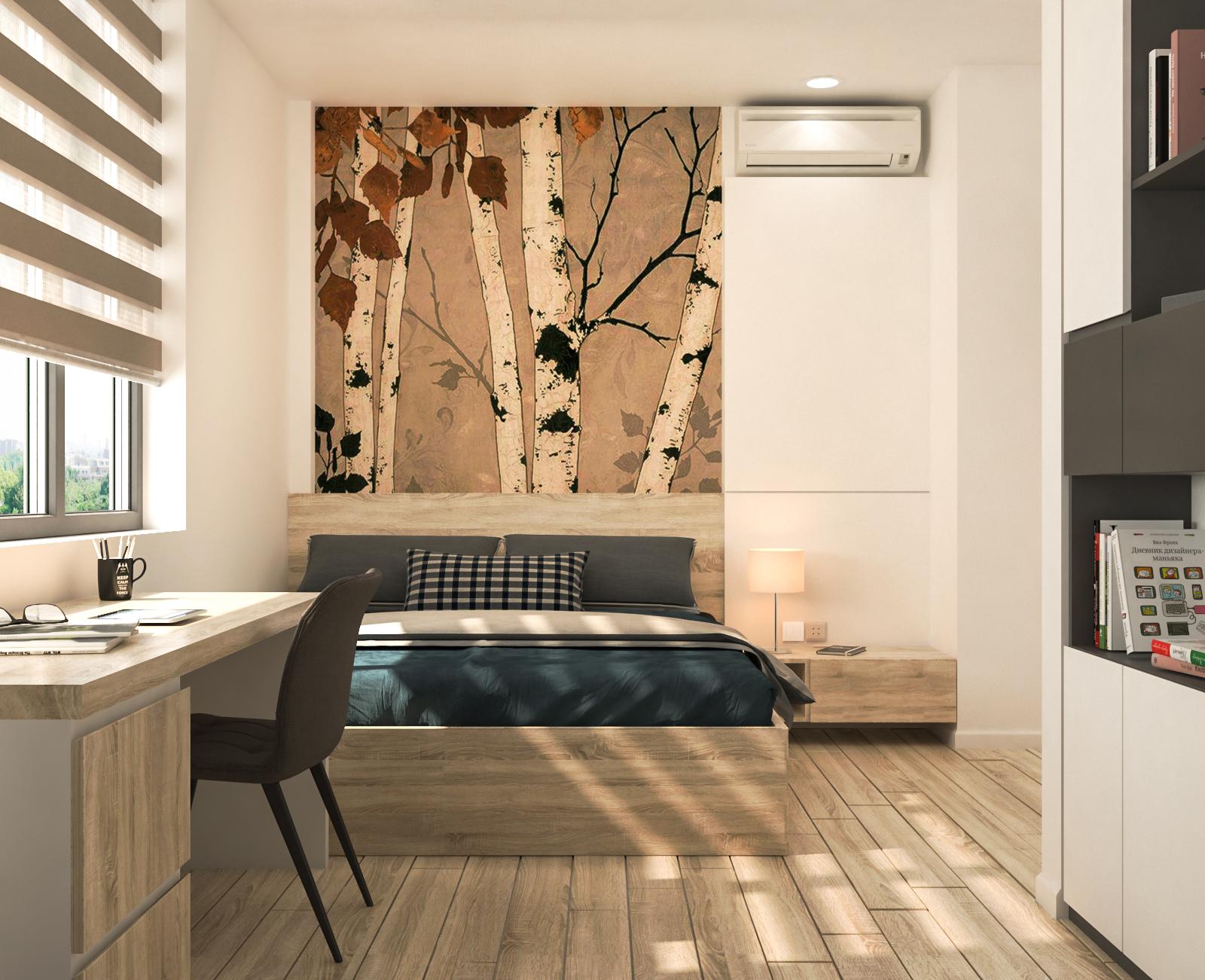 Tư vấn thiết kế cải tạo căn hộ chung cư diện tích 79m² với tổng chi phí 140 triệu đồng - Ảnh 8.