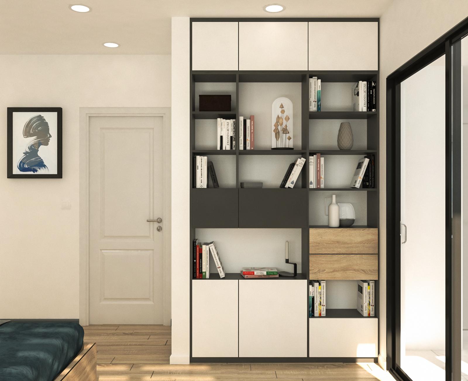 Tư vấn thiết kế cải tạo căn hộ chung cư diện tích 79m² với tổng chi phí 140 triệu đồng - Ảnh 9.