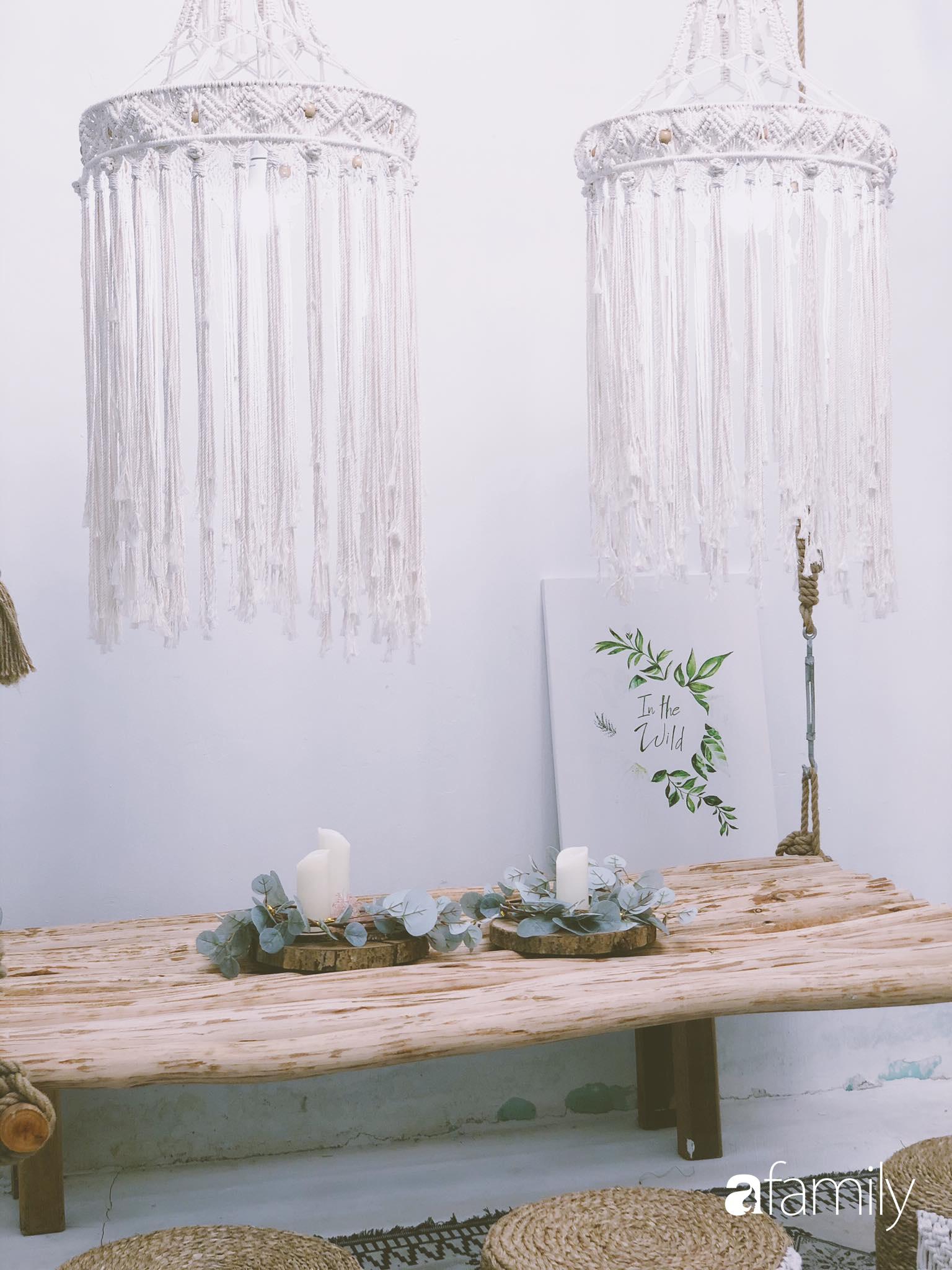 Yêu phong cách Boho, cô gái 9X biến nhà cấp 4 cũ nát thành không gian đẹp mộc mạc, bình dị ở Đà Nẵng - Ảnh 15.