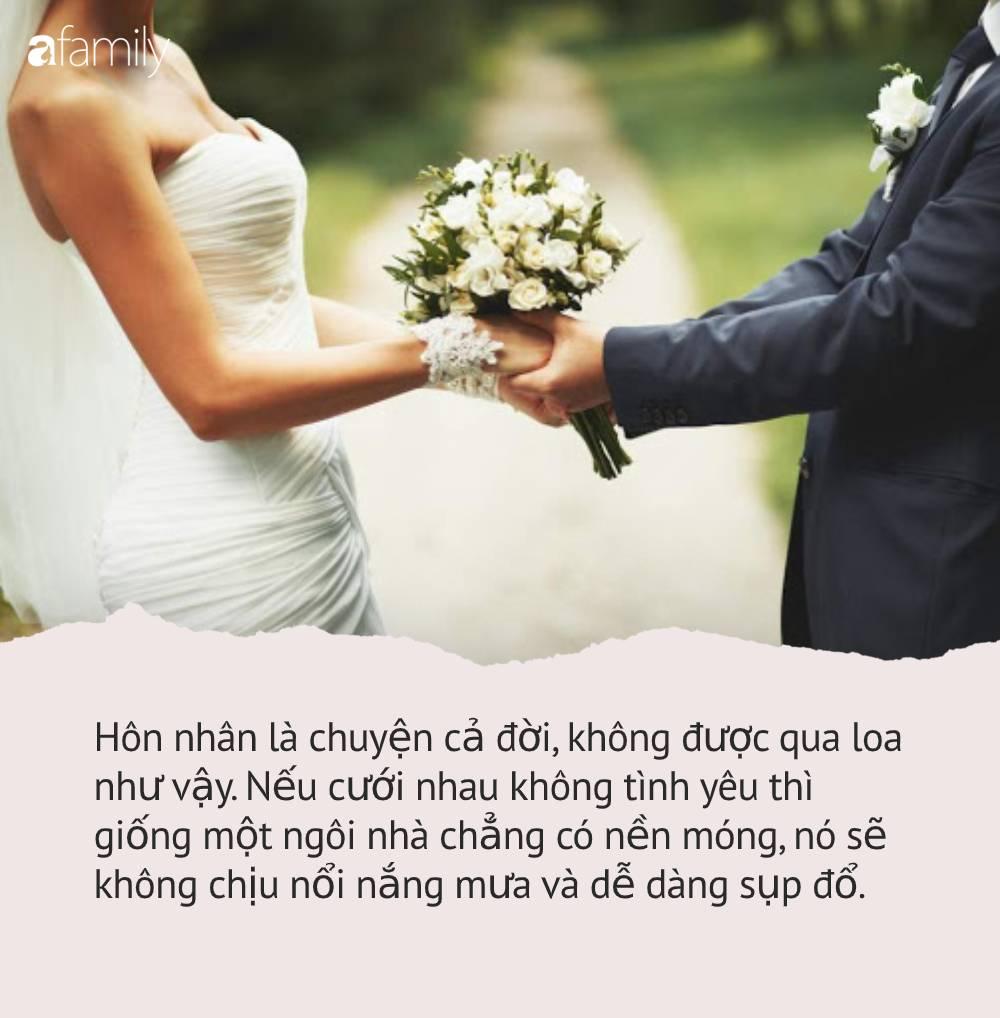 Cưới chồng nhà giàu được 6 tháng đã muốn ly hôn, cô gái 29 tuổi cay đắng chia sẻ về 5 câu hỏi mà ai cũng cần trả lời trước đám cưới - Ảnh 2.