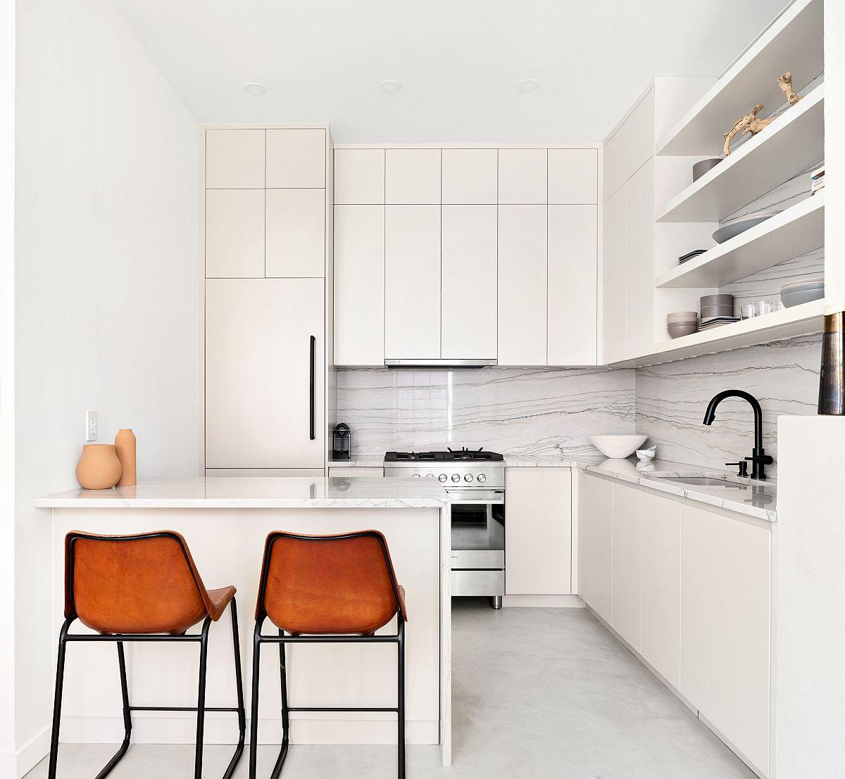 Những căn bếp nhỏ được thiết kế sáng tạo vừa đẹp vừa tiện dụng nhờ các giải pháp không ai ngờ tới - Ảnh 3.