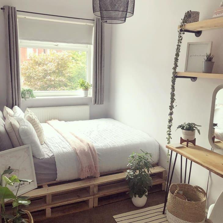 Gợi ý 10 kiểu giường pallet vừa rẻ vừa xinh phù hợp với mọi loại phòng ngủ - Ảnh 5.