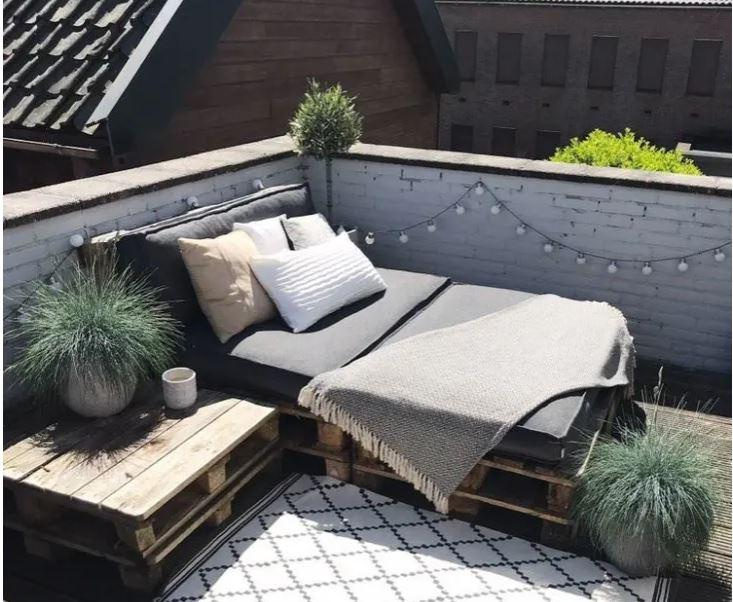 Gợi ý 10 kiểu giường pallet vừa rẻ vừa xinh phù hợp với mọi loại phòng ngủ - Ảnh 8.