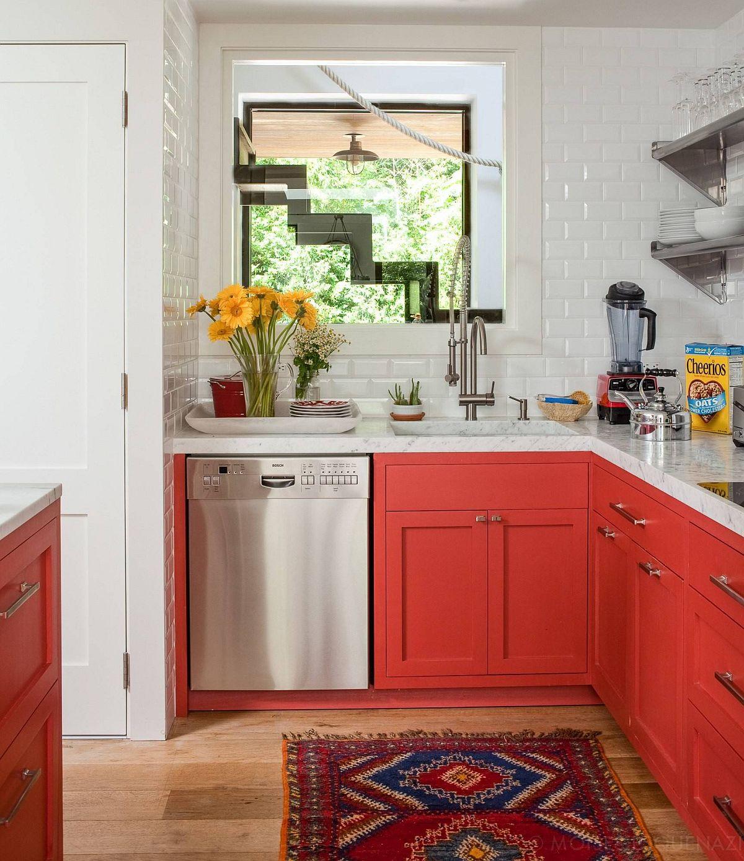 Những căn bếp nhỏ được thiết kế sáng tạo vừa đẹp vừa tiện dụng nhờ các giải pháp không ai ngờ tới - Ảnh 8.