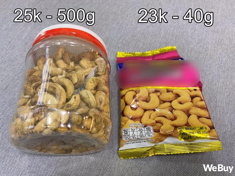 """Ăn thử hạt điều siêu rẻ 100k/4-6 hộp: ngon đấy nhưng không ngồi """"soi"""" từng hạt thì cẩn thận kẻo rước bệnh vào người - Ảnh 8."""