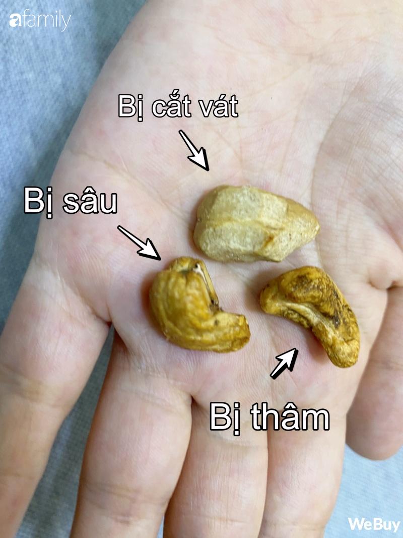 """Ăn thử hạt điều siêu rẻ 100k/4-6 hộp: ngon đấy nhưng không ngồi """"soi"""" từng hạt thì cẩn thận kẻo rước bệnh vào người - Ảnh 10."""