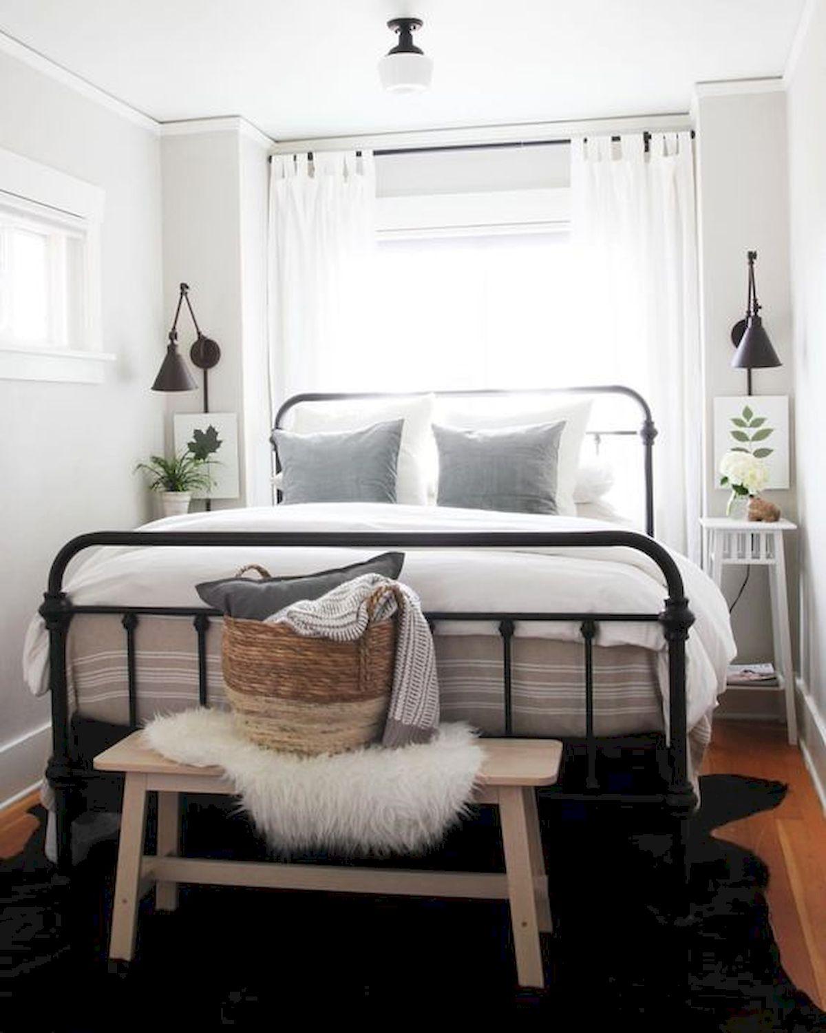 Mách bạn 10 mẹo khuếch đại không gian phòng ngủ nhỏ - Ảnh 4.