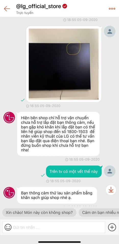 """Vẫn câu chuyện mua hàng online: Hứng khởi đặt chiếc TV to """"tổ chảng"""", người mua nhận về sản phẩm lỗi còn bàng hoàng vì phải tự đóng gói vận chuyển - Ảnh 2."""