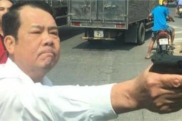 Công an vào cuộc xác minh người đàn ông rút súng dọạ bắn 'vỡ sọ' người đi đường ở Bắc Ninh