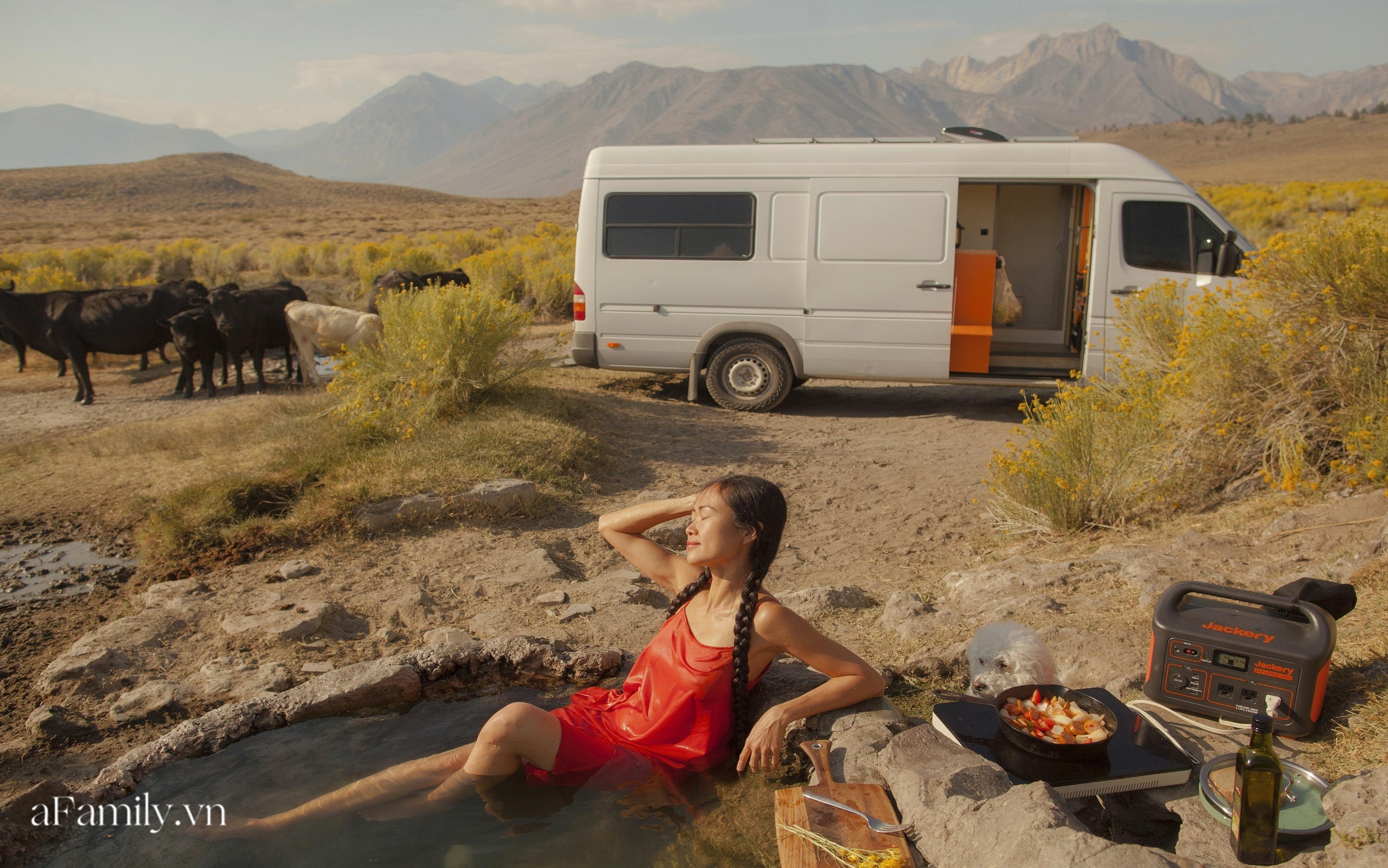 Cuộc sống trên xe van đi khắp nước Mỹ của đôi vợ chồng người Việt: Mỗi ngày thức dậy là một cảnh bình minh - Ảnh 5.