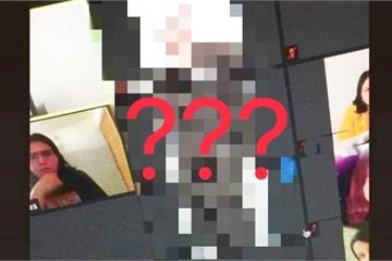 Vừa mở camera lớp học online, cô giáo giật bắn mình khi thấy mặt học trò