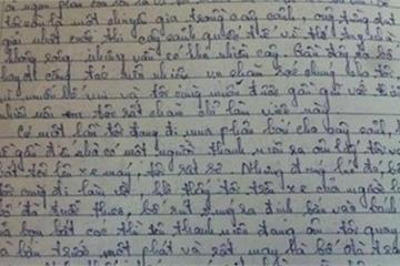 """Cậu bé cấp 1 làm văn tả bố như phim hành động, cô giáo đọc xong phải phê: """"Sợ quá nhỉ"""""""
