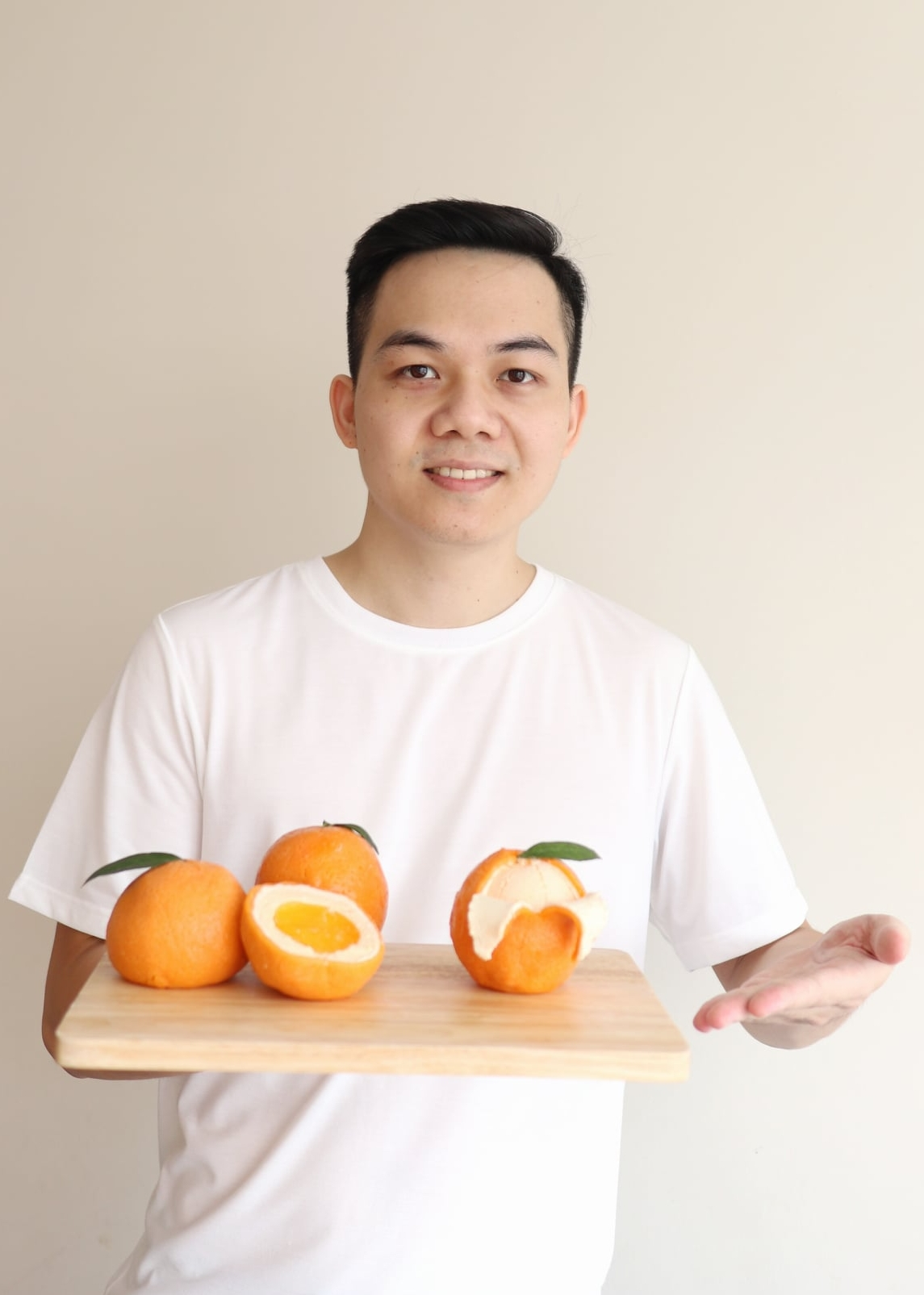 """Cũng là cam nhưng không phải bánh bao, bố đảm Hà Nội trổ tài làm món phô mai thạch """"siêu thực"""" thơm ngon khó cưỡng - Ảnh 13."""