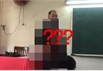 Thầy giáo mặc chiếc áo lạ, chẳng nói câu gì mà cả lớp run bần bật!
