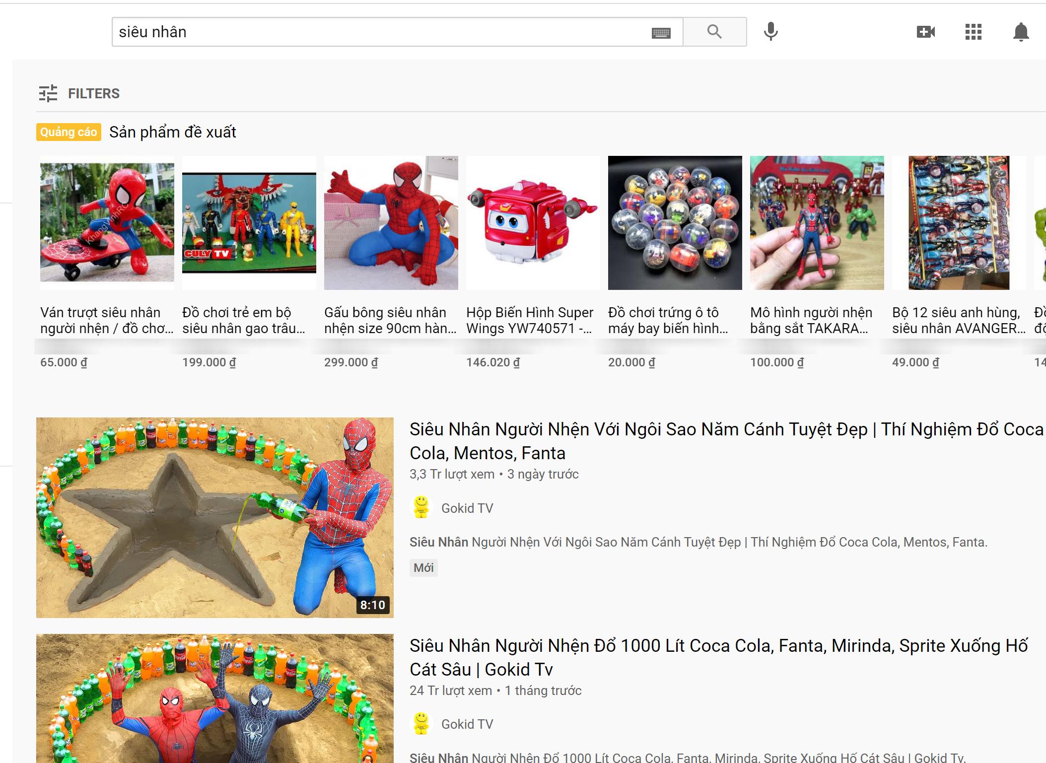 Phát hiện thêm kênh YouTube cho trẻ em có nội dung nhảm nhí: Chuyên thử thách nguy hiểm, còn dùng hình ảnh nhạy cảm câu view - Ảnh 2.