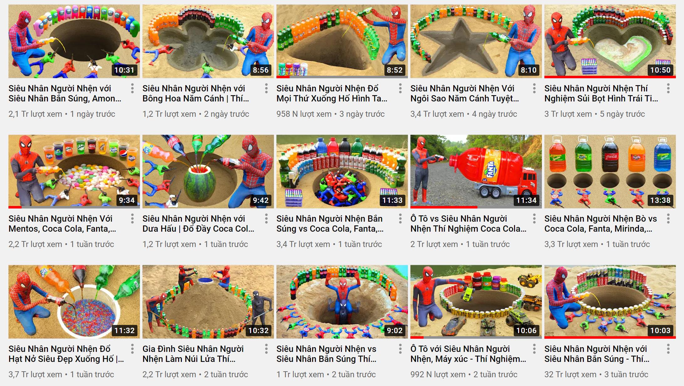 Phát hiện thêm kênh YouTube cho trẻ em có nội dung nhảm nhí: Chuyên thử thách nguy hiểm, còn dùng hình ảnh nhạy cảm câu view - Ảnh 3.