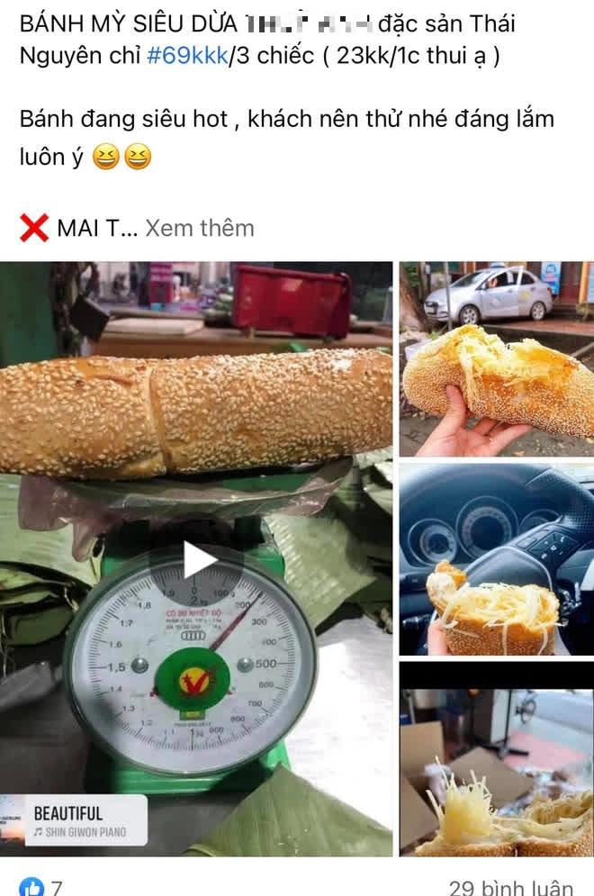Hí hửng đặt mua bánh mì siêu dừa thơm ngậy và thành phẩm đến tay gây choáng váng: Lưa thưa vài hạt vừng, dừa tàng hình mất 2/3 - Ảnh 2.
