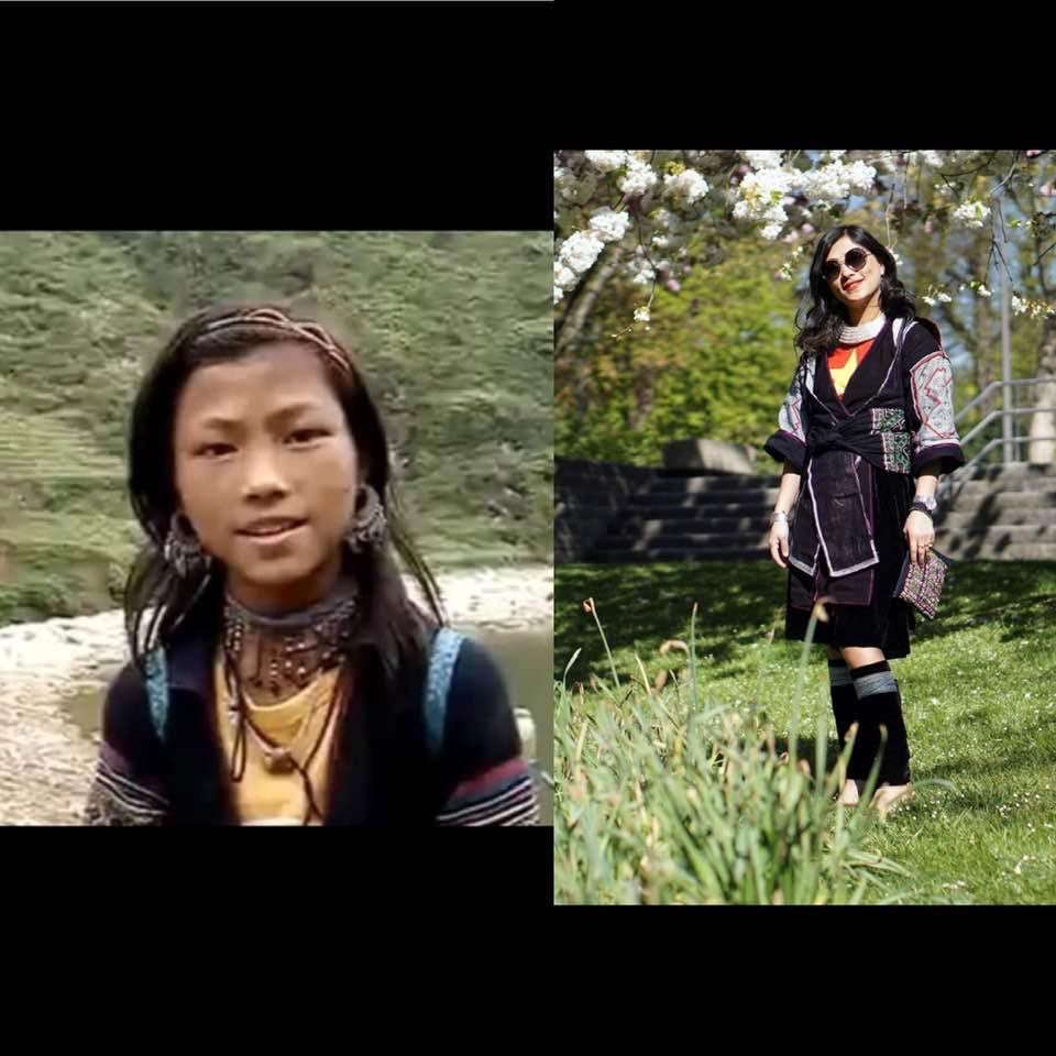 Mặc cùng bộ trang phục 16 năm về trước, cô gái H'Mông nói tiếng Anh như gió khiến ai nấy ngỡ ngàng với sự khác biệt ở hiện tại - Ảnh 1.