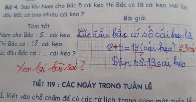 Phụ huynh đăng đàn xin ý kiến vì con ghi 2 + 1 > 1 bị gạch sai, nhiều người bênh giáo viên nhưng dân tình chỉ ra điều chưa hợp lý - Ảnh 2.