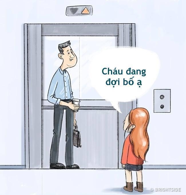"""Gặp """"ông già xấu"""" trong thang máy, cách xử lý thông minh đã giúp bé gái 8 tuổi thoát nguy thành công, bố mẹ được một phen hú vía - Ảnh 4."""