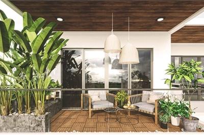 Tư vấn thiết kế nhà 3,5 tầng trên mảnh đất bị xéo với chi phí 430 triệu đồng