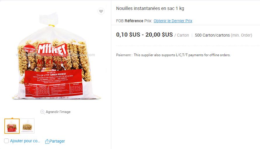 Cấp báo: Mì ăn liền Việt âm thầm có mặt tại nhiều trang bán hàng online của nước ngoài, giá bán cao ngất có nơi hơn 5 trăm nghìn/gói - Ảnh 12.