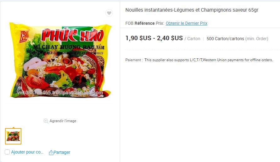 Cấp báo: Mì ăn liền Việt âm thầm có mặt tại nhiều trang bán hàng online của nước ngoài, giá bán cao ngất có nơi hơn 5 trăm nghìn/gói - Ảnh 14.