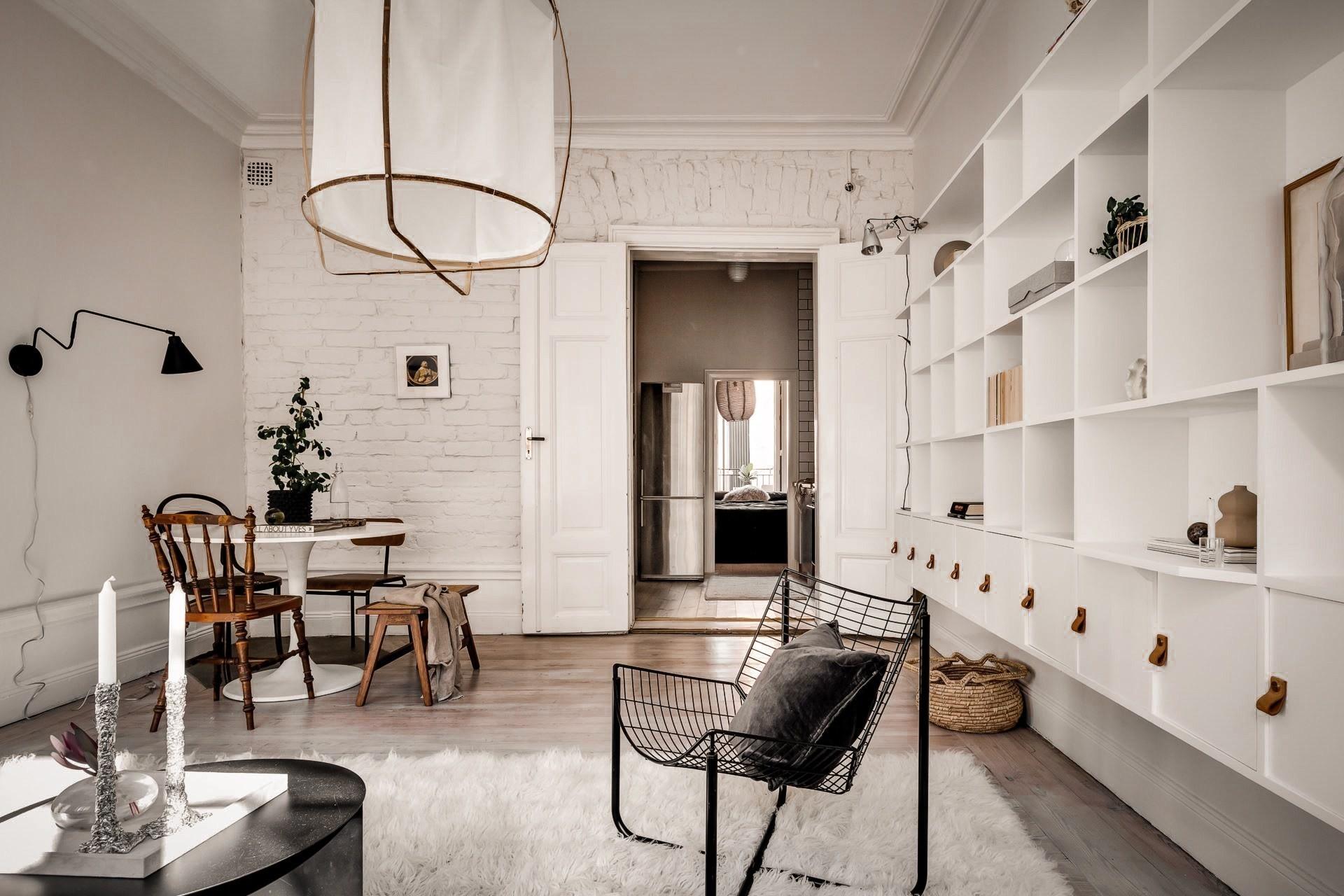 Bài trí nội thất tưởng đơn giản, ít ỏi, căn hộ nhỏ 44m2 ở Nga vẫn hiện lên vô cùng lộng lẫy - Ảnh 12.