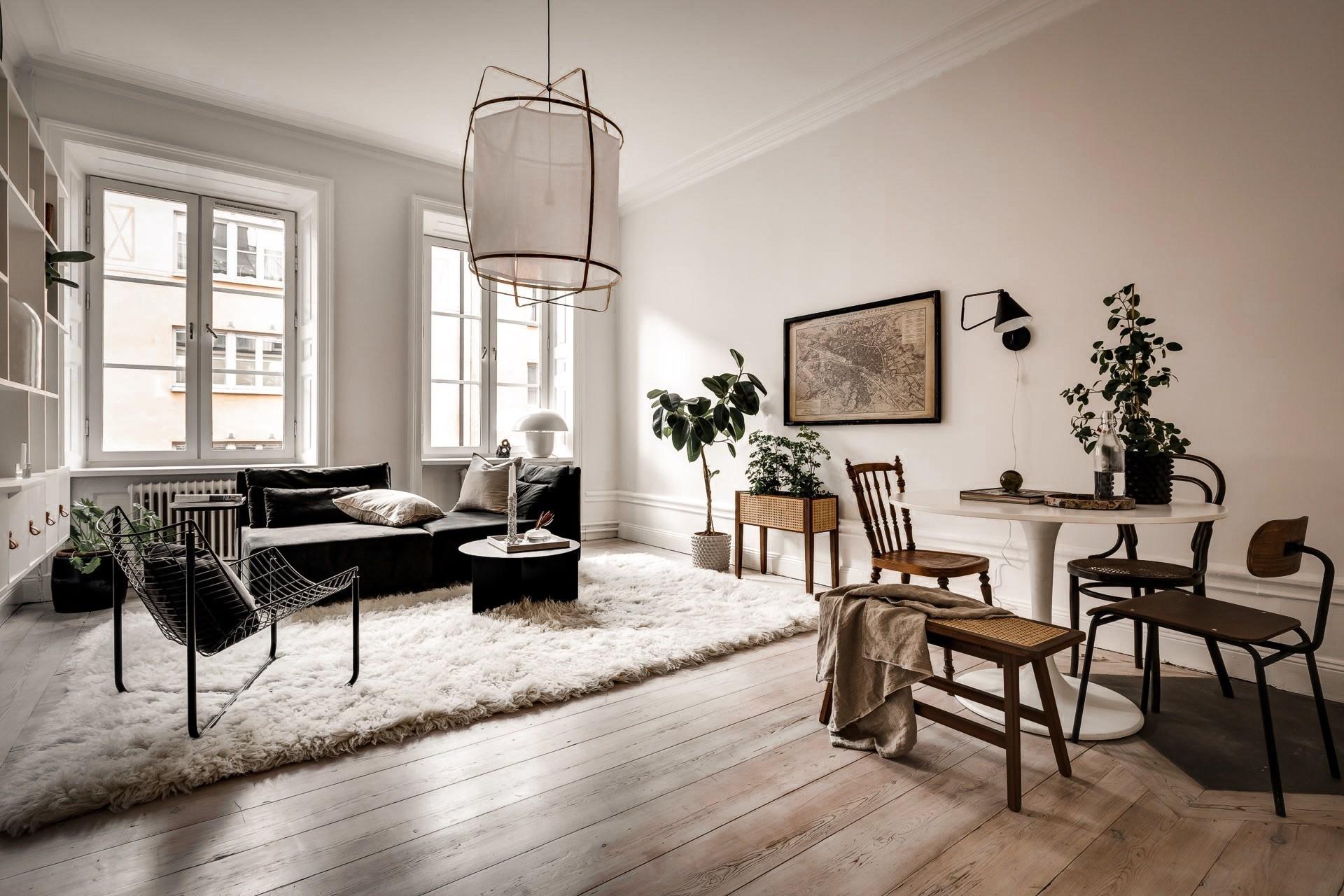 Bài trí nội thất tưởng đơn giản, ít ỏi, căn hộ nhỏ 44m2 ở Nga vẫn hiện lên vô cùng lộng lẫy - Ảnh 4.