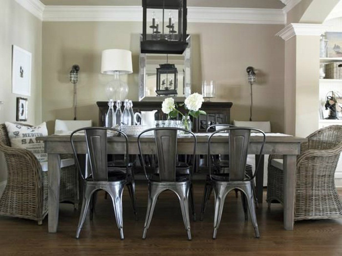 """Những ý tưởng tạo vẻ đẹp """"thời thượng"""" cho phòng ăn bằng bí quyết kết hợp nội thất - Ảnh 10."""