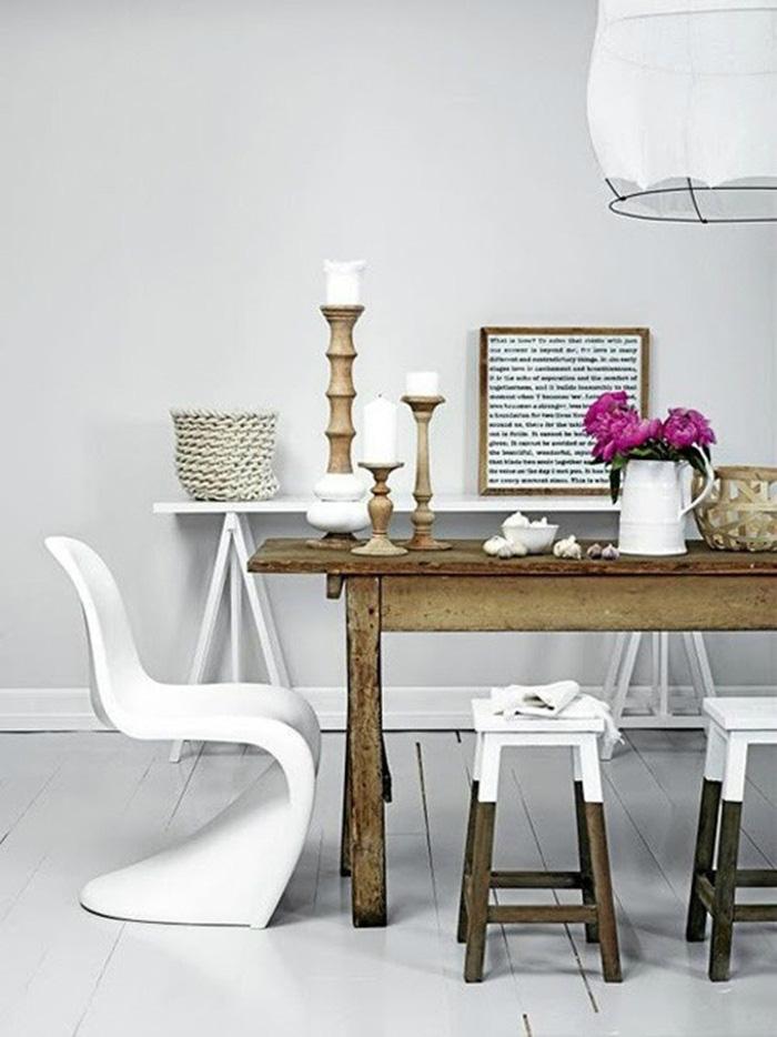 """Những ý tưởng tạo vẻ đẹp """"thời thượng"""" cho phòng ăn bằng bí quyết kết hợp nội thất - Ảnh 16."""