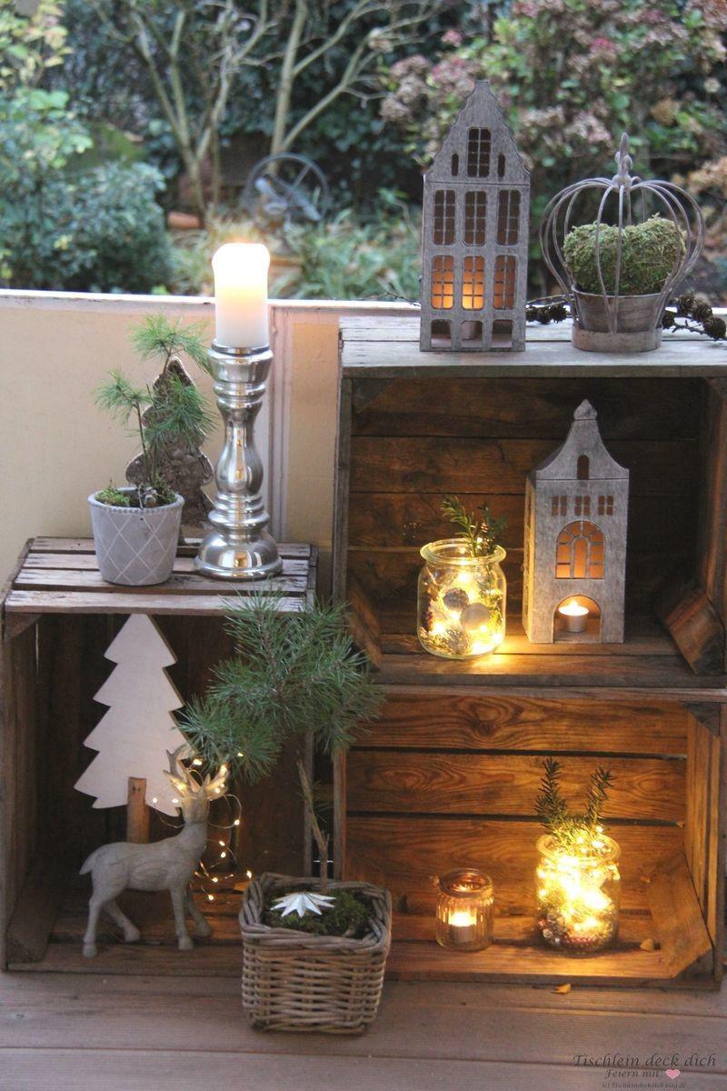 27 ý tưởng trang trí ban công dịp Giáng sinh cực đáng yêu cho mỗi gia đình - Ảnh 8.