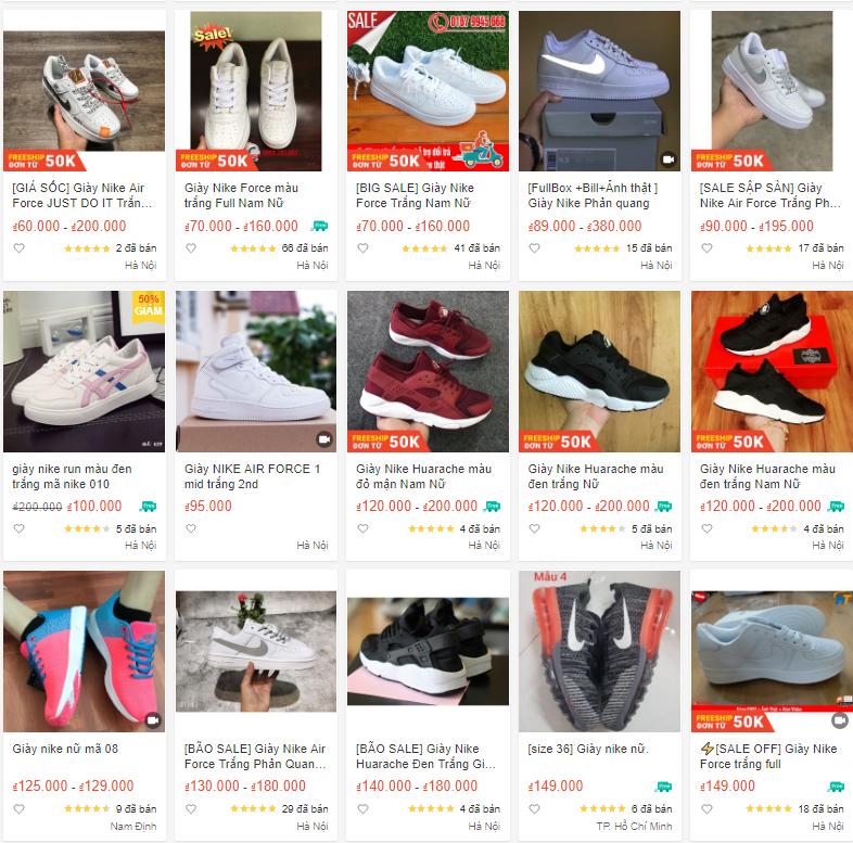 Cảnh báo: Tràn ngập số lượng lớn giày thể thao hàng hiệu giá bèo tại chợ online, đa phần đều là hàng Trung Quốc - Ảnh 2.