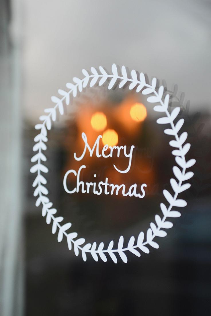 5 cách trang trí cửa sổ ngày Giáng sinh vô cùng dễ thương và bắt mắt - Ảnh 3.