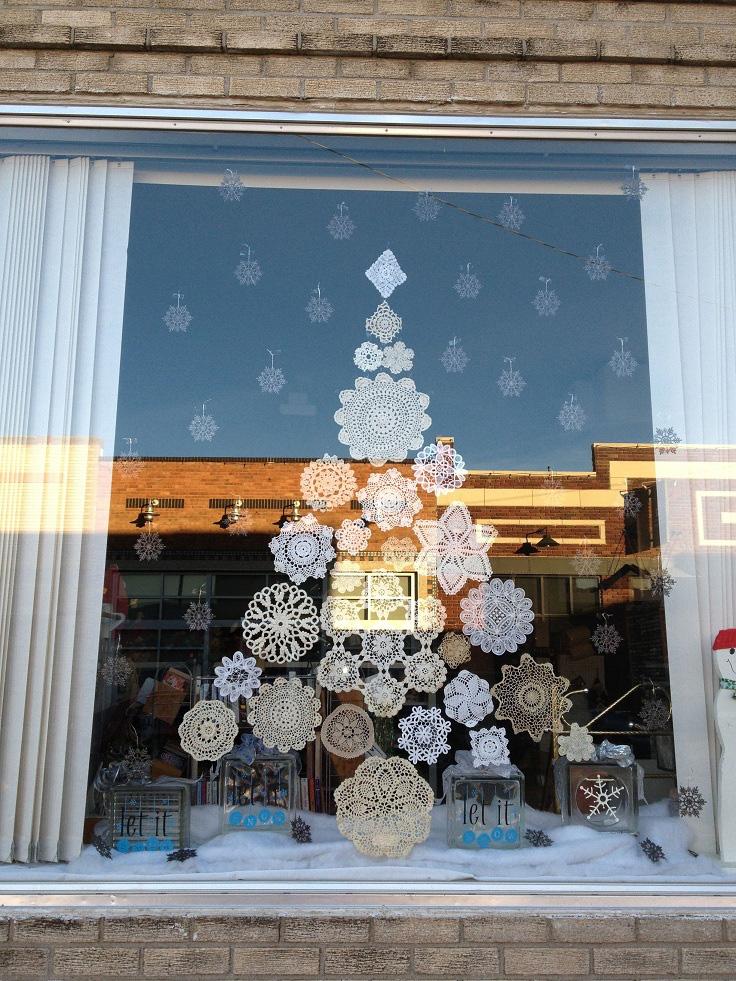 5 cách trang trí cửa sổ ngày Giáng sinh vô cùng dễ thương và bắt mắt - Ảnh 7.