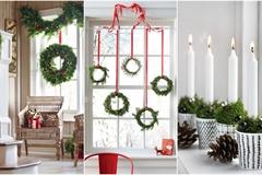 5 cách trang trí cửa sổ ngày Giáng sinh vô cùng dễ thương và bắt mắt