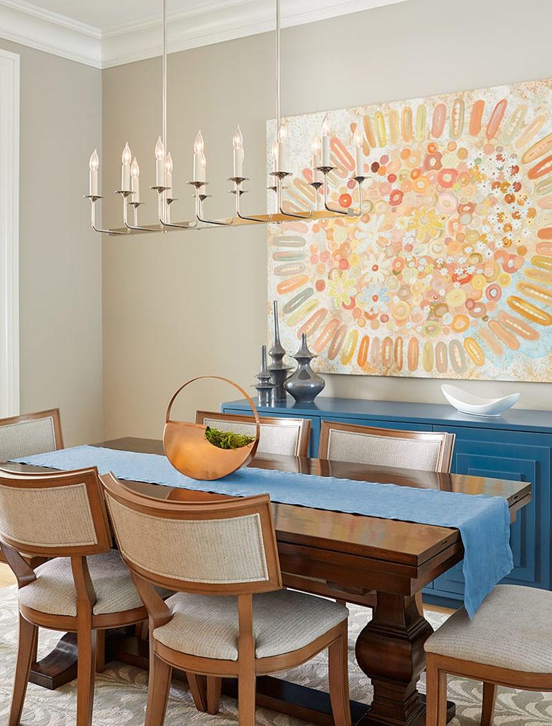 Mách bạn chỉ với một bí kíp thôi cũng đủ khiến căn phòng ăn gia đình đẹp hớp hồn - Ảnh 15.