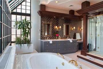 Những phòng tắm chỉ ngắm thôi cũng đủ… sảng khoái