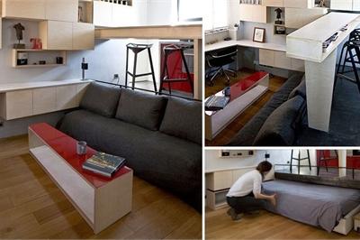 10 căn hộ nhỏ cực đẹp khiến người có nhà to vật vã thèm