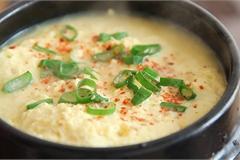 Món trứng hấp bồng bềnh như mây bước ra từ phim Hàn Quốc