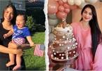 Phạm Hương tổ chức sinh nhật hoành tráng cho con trai nhưng chỉ 1 chi tiết khiến dân tình chê không biết dạy con